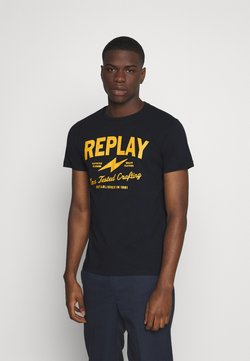 Replay - TEE - Print T-shirt - blue