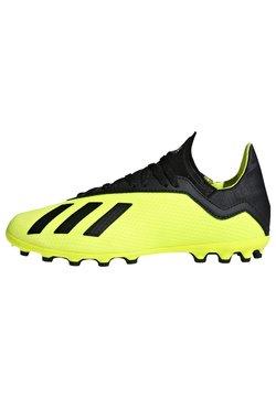 adidas Performance - X 18.3 Artificial Grass Boots - Fußballschuh Nocken - yellow/black