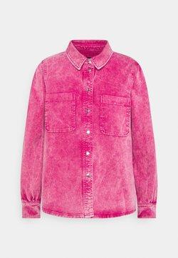 Ivy Copenhagen - LAVINA AZID - Denim jacket - dark fuchsia pink