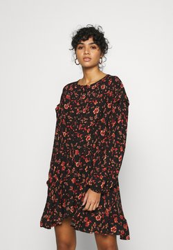 Free People - FLOWER FIELDS MINI - Freizeitkleid - dark combo