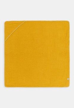Lässig - MUSLIN HOODED TOWEL - Beach towel - yellow