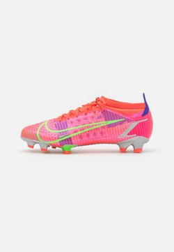 Nike Performance - MERCURIAL VAPOR 14 PRO FG - Chaussures de foot à crampons - bright crimson/metallic silver