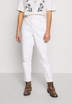 Topshop Petite - MOM CLEAN  - Jeans Relaxed Fit - off white