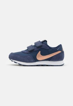 Nike Sportswear - VALIANT - Sneakers laag - midnight navy/metallic red bronze/white