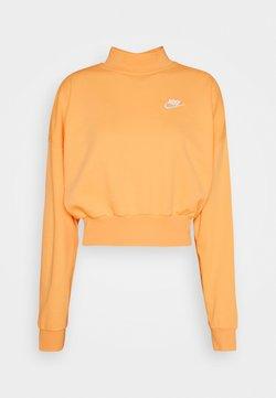 Nike Sportswear - MOCK - Sweater - orange/chalk