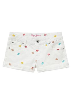 Pepe Jeans - FOXTAIL KISS - Jeansshort - blanco