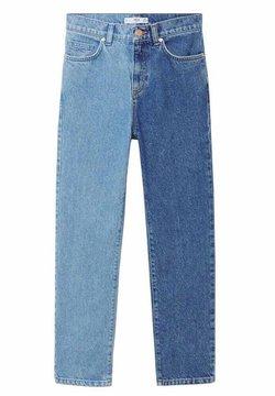 Mango - DUOP - Slim fit jeans - lichtblauw