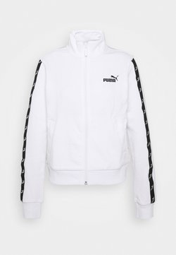 Puma - AMPLIFIED TRACK JACKET - Trainingsjacke - white