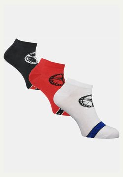 Carlo Colucci - 3 PACK - Socken - weiß / schwarz / mehrfarbig