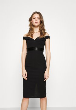 WAL G. - RYLIE BAND MIDI DRESS - Cocktail dress / Party dress - black