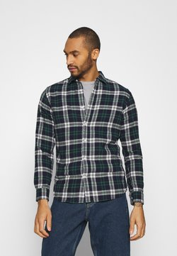 Jack & Jones - JJEWILL CHECK SHIRT  - Hemd - olive night