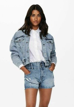 ONLY - CROPPED - Giacca di jeans - light blue denim