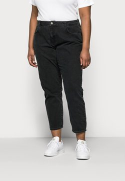 Noisy May Curve - NMISABEL - Jeans Relaxed Fit - black