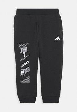 adidas Performance - SPORTSWEAR STREET TRAINING PANTS - Verryttelyhousut - black
