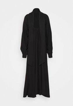 NA-KD - HIGH SLIT DRESS - Vestido largo - black