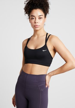 Nike Performance - FAVORITES STRAPPY - Sport BH - black/white