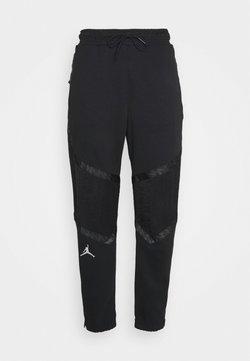 Jordan - ZION WILLIAMSON PANT - Jogginghose - black/white