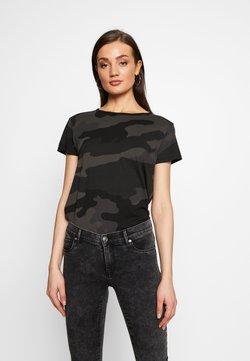 G-Star - ALLOVER TOP - Camiseta estampada - raven