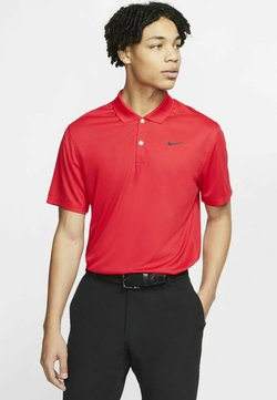 Nike Golf - DRY VICTORY SOLID - T-shirt sportiva - university red/black