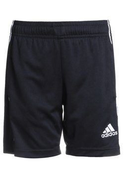 adidas Performance - CORE ELEVEN PRIMEGREEN FOOTBALL 1/4 SHORTS - Krótkie spodenki sportowe - black/white