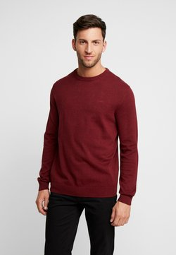 Esprit - CREW - Strickpullover - dark red