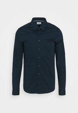 Calvin Klein Tailored - LOGO STRETCH EXTRA SLIM - Businesshemd - blue