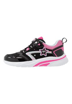 KangaROOS - KK-DAISY II - Sneakers laag - jet black/daisy pink
