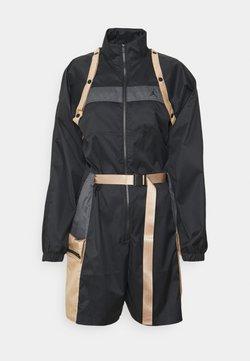 Jordan - NEXT UTILITY - Jumpsuit - black/iron grey/hemp