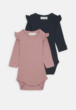 Name it - NBFKABEX BABY 2 PACK - Body - wood rose/dark sapphire