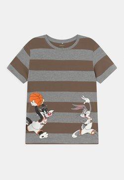 Name it - NMMSPACEJAM - Camiseta estampada - grey melange
