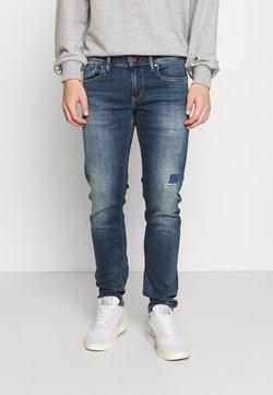 Pepe Jeans - HATCH POWERFLEX - Jeans slim fit - dark-blue denim