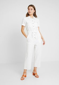 Miss Selfridge - UTILITY CULOTTE - Combinaison - cream