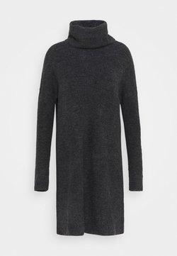 ONLY Tall - ONLJANA COWLNCK DRESS  - Vestido de punto - dark grey melange