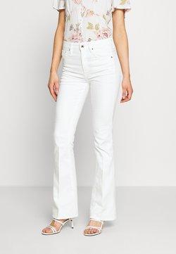 G-Star - 3301 HIGH FLARE - Flared Jeans - white