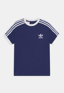 adidas Originals - STRIPES TEE - T-shirt imprimé - night sky/white