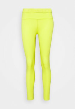 Deha - LEGGINGS - Medias - lime yellow
