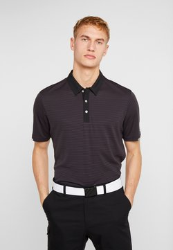 adidas Golf - HEAT RDY STRIPE - Funktionsshirt - black/carbon