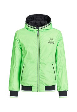 WE Fashion - ASHER REVERSIBLE  - Winterjas - neon green, black