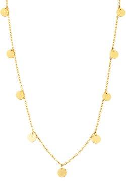 Heideman - KREIS PLÄTTCHEN GEO - Halskette - gold-coloured