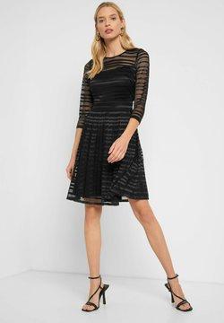 ORSAY - MIT SPITZE - Cocktailkleid/festliches Kleid - schwarz