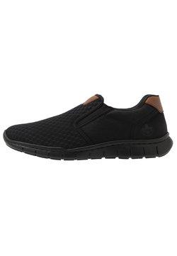 Rieker - Loafers - schwarz/amaretto