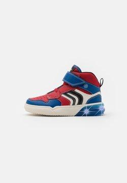 Geox - GRAYJAY BOY - Sneaker high - red/royal