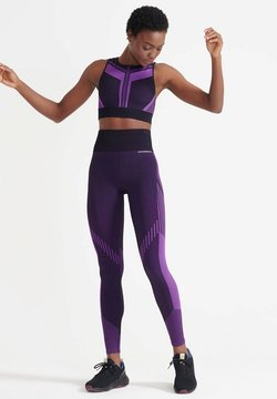 Superdry - Tights - vivid viola