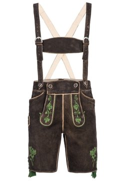Almsach - Shorts - dunkelbraun