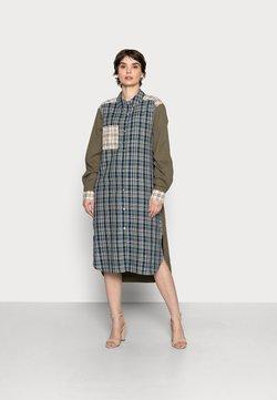 Cream - DALLAS CHECK SHIRTDRESS - Sukienka koszulowa - multi-coloured
