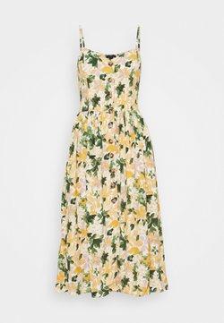 Mavi - BUTTON DRESS - Vestido informal - multi-coloured/light yellow