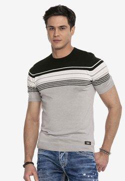 Cipo & Baxx - T-Shirt print - grey