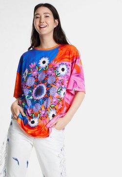 Desigual - Camiseta estampada - light blue