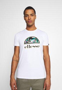Ellesse - HEBBER - Camiseta estampada - white