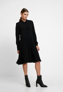 Minimum - BINDIE DRESS - Blusenkleid - black
